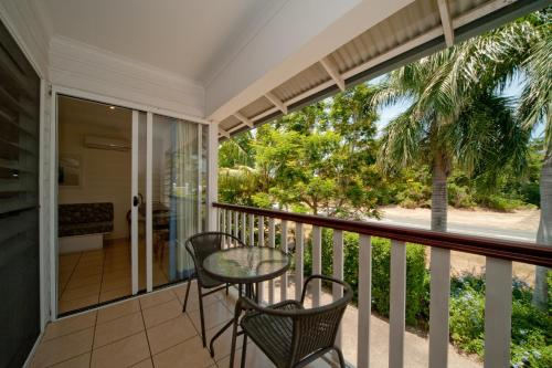 A balcony or terrace at Mango House Resort