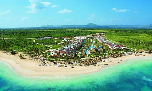 A bird's-eye view of Breathless Punta Cana Resort & Spa - Adults Only