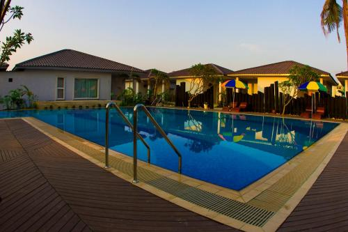 The swimming pool at or near Triumph Hotel Mandalay