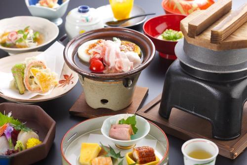 さぎの湯荘で提供されている朝食