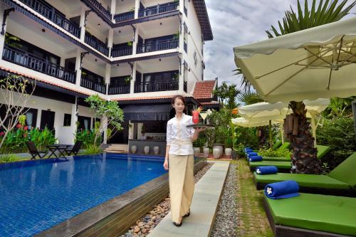 Piscina en o cerca de Khmer Mansion Boutique Hotel