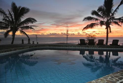Piscina en o cerca de Iorana Isla de Pascua Hotel