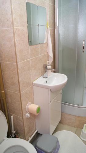 Ванная комната в Мини отель Звездный