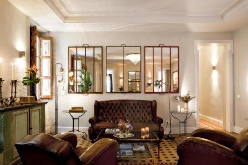 Zona de estar de We Boutique Hotel Barcelona
