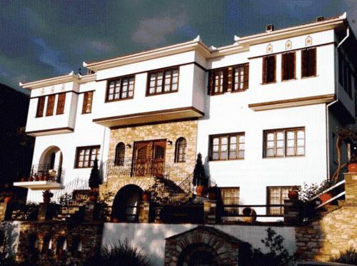 Το κτήριο όπου στεγάζεται  ο ξενώνας