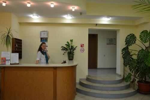 Лобби или стойка регистрации в Отель Булак