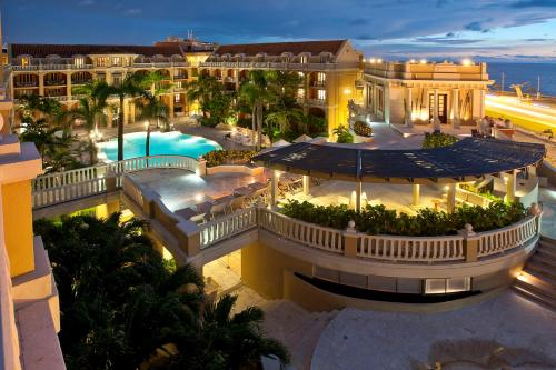 A view of the pool at Sofitel Legend Santa Clara Cartagena or nearby