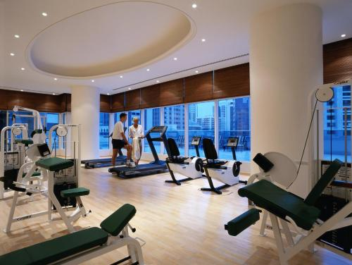 The fitness center and/or fitness facilities at Corniche Hotel Abu Dhabi