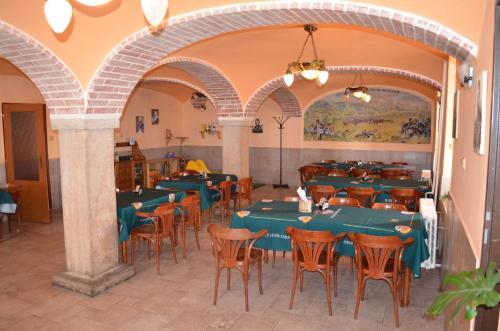 Restaurace v ubytování Motorest Penzion na Bojišti