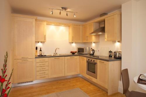 A kitchen or kitchenette at SACO Farnborough