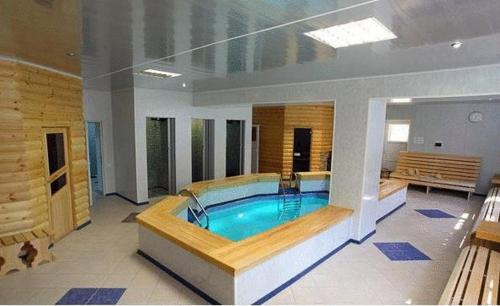 The swimming pool at or near Hotel Povorot