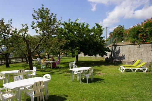 Jardin de l'établissement Hotel U Casone