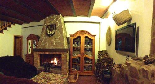 El salón o zona de bar de Encanto de Aragón
