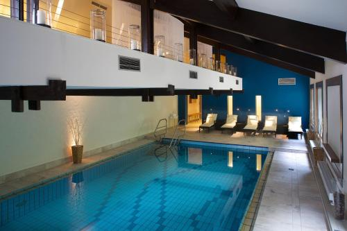 The swimming pool at or near Hotel Bären Titisee