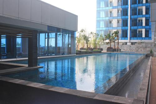 The swimming pool at or close to Best Western Premier The Hive