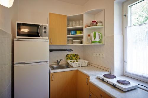 Küche/Küchenzeile in der Unterkunft Pension U slunce
