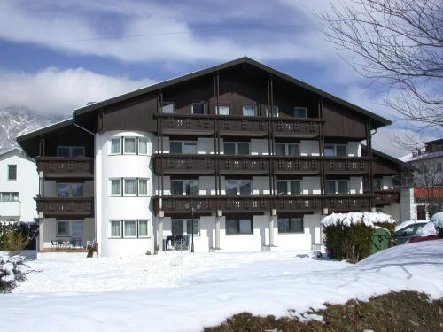 Hotel Edelweiss during the winter