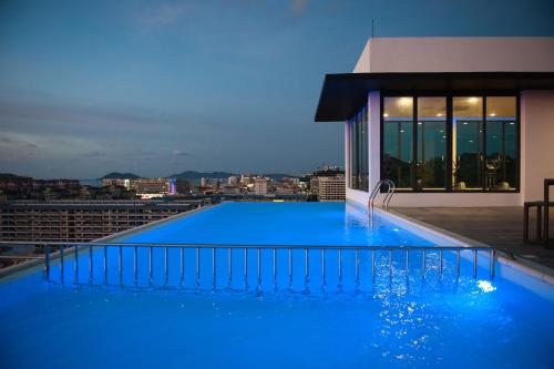 The swimming pool at or near Sky Hotel