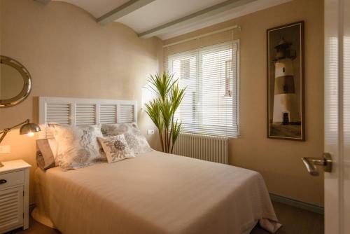 Cama o camas de una habitación en Apartamento Marina