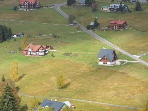 A bird's-eye view of Berger Pec Privat