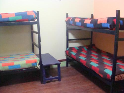 A bunk bed or bunk beds in a room at Intiaconcagua Hostel