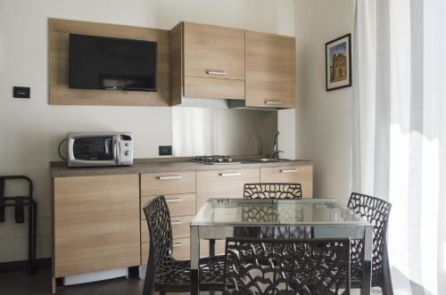 Cucina o angolo cottura di Ponticello Apartments
