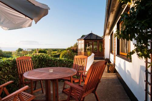 A balcony or terrace at Shannonview Self Catering