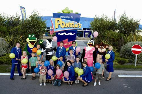 Children staying at Pontins - Camber Sands Holiday Park