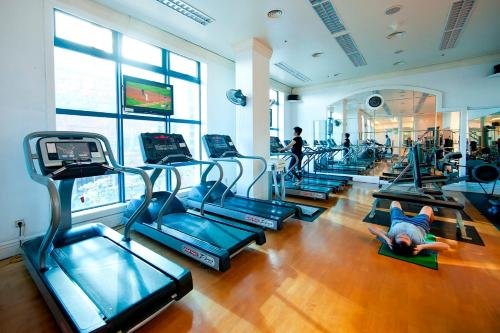 The fitness center and/or fitness facilities at Daeha Serviced Apartment