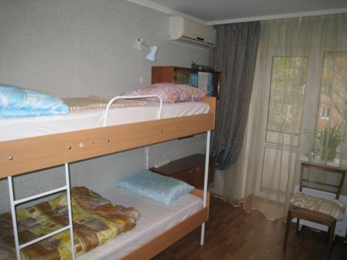 A bunk bed or bunk beds in a room at Elephant Hostel