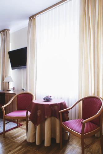 Гостиная зона в Отель Звездный