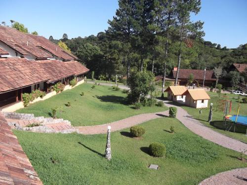 A bird's-eye view of Hotel La Dolce Vita