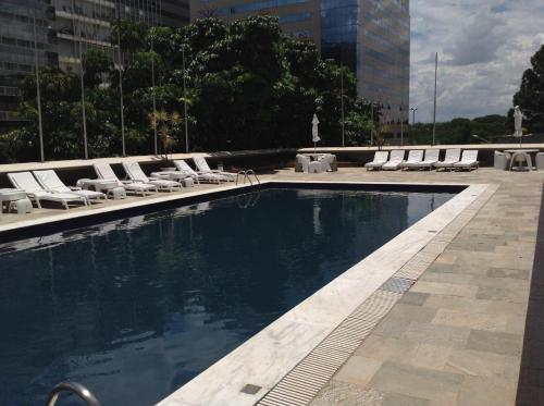 The swimming pool at or near Carlton Hotel Brasilia
