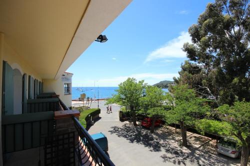 Balcon ou terrasse dans l'établissement Le Relais d'Agay