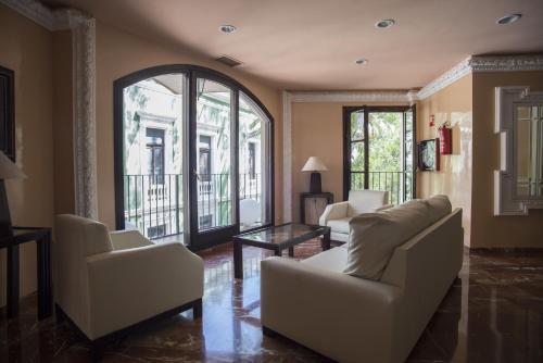 Zona de estar de Balneario de Archena - Hotel León