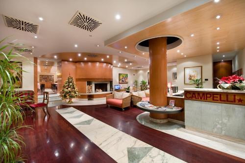 Hall o reception di Hotel Campelli