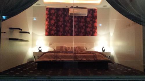 Postelja oz. postelje v sobi nastanitve Chalet Bernof