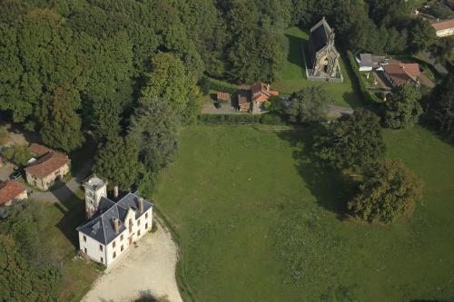 A bird's-eye view of Domaine de Chantemerle