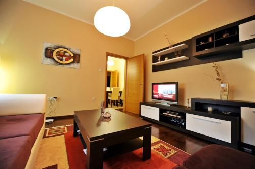 A television and/or entertainment center at Apartment Lux Center