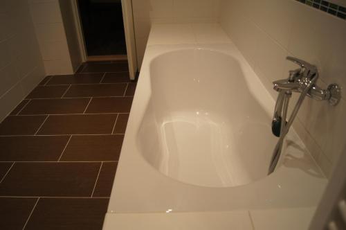 Koupelna v ubytování Apartmany Ostrava