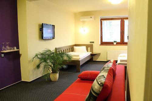 Posezení v ubytování Apart Hotel Jablonec