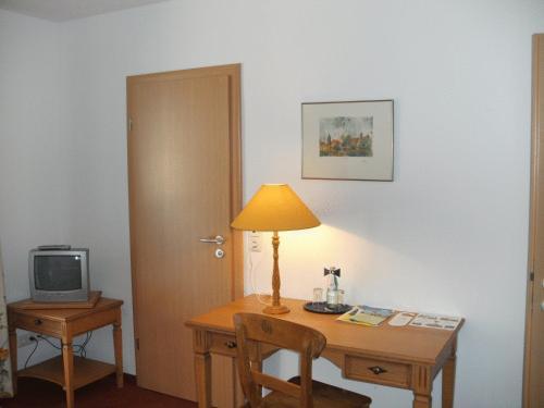 TV/Unterhaltungsangebot in der Unterkunft Gästehaus Appelberg