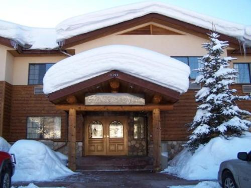 Steamboat Mountain Lodge during the winter