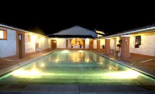 The swimming pool at or near Hotel Laguna Seca