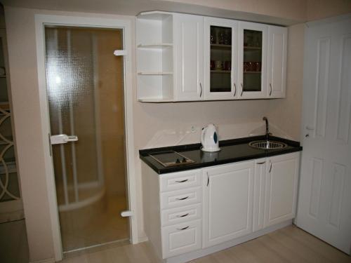 Koupelna v ubytování Apartment Helena