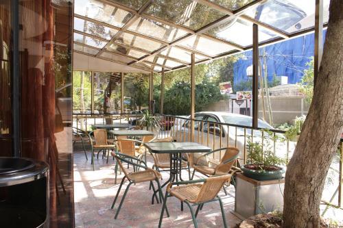 Hotel Lobeliaにあるレストランまたは飲食店