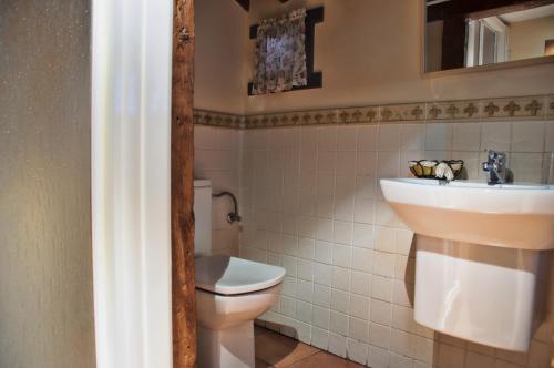 Un baño de Hostal Alfonso XII