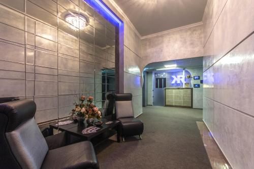 The lobby or reception area at Hotel Kentavr