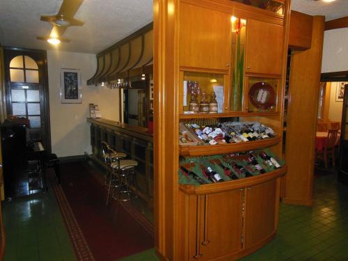 Лаундж или бар в Hotel Pri Belokranjcu