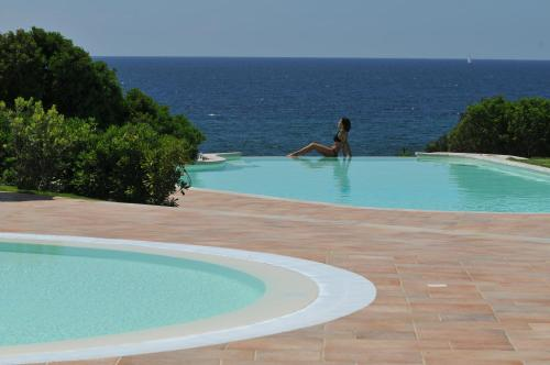 The swimming pool at or near Hotel Punta Negra